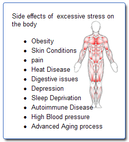 effects of stress in body